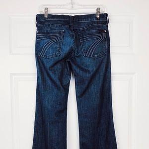 7 For All Mankind Dojo Denim Jeans 27